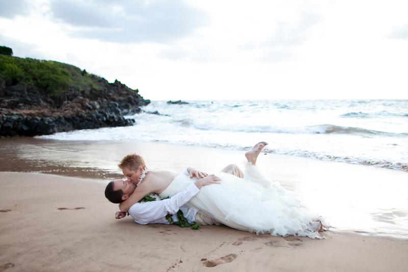 Four Seasons Maui Vow Renewal | Richard + Leslie