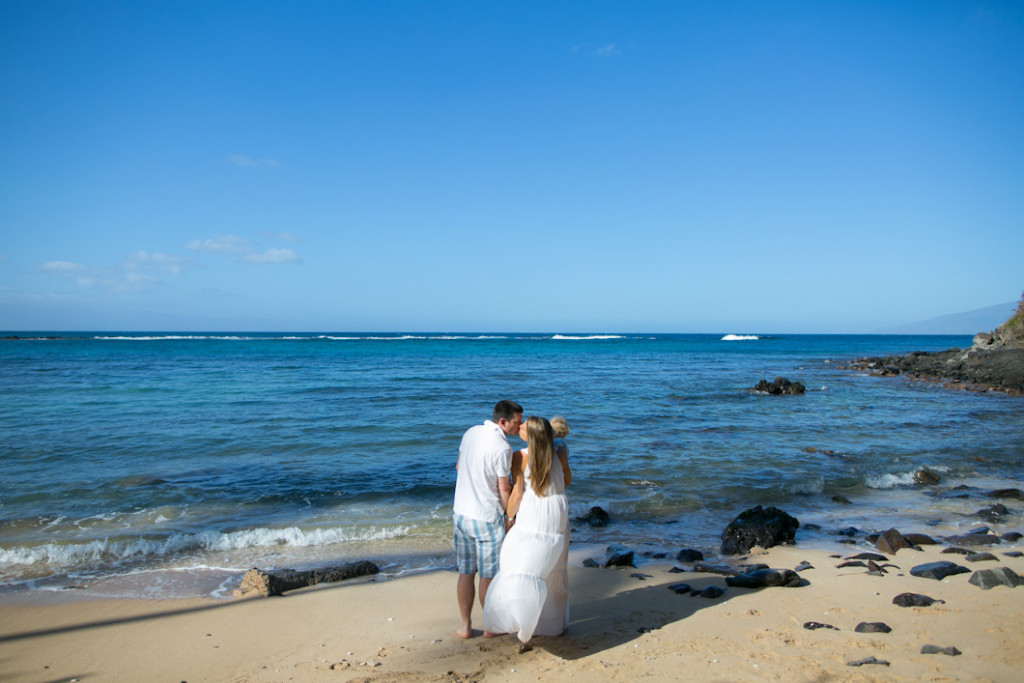Kapalua Bay morning family session