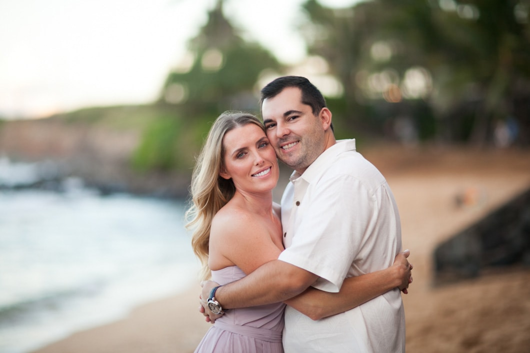 Mama's Fish House, Maui Engagement photographer