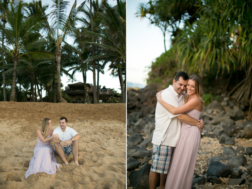 mamas fish house engagement photos
