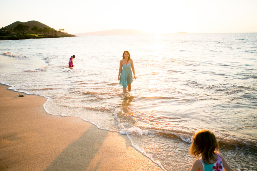 family session the water, wailea maui
