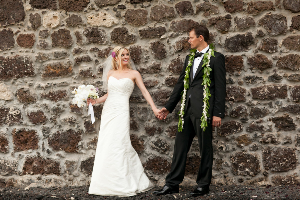Keawalai Church Maui Wedding portraits