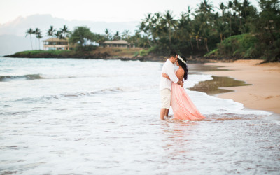 Wailea Maui Engagement Session