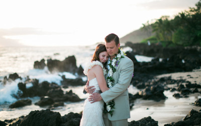 White Orchid Beach House Wedding, Maui Wedding Photographer