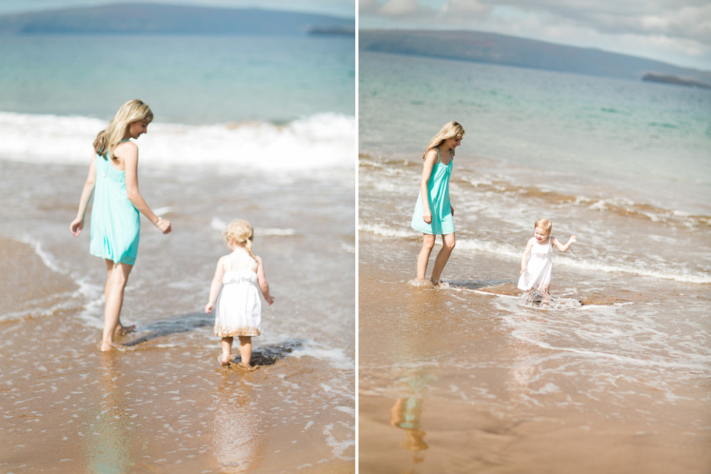 mommy daughter moments, maui style