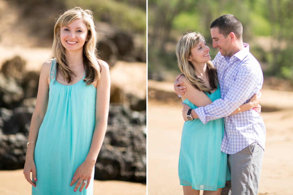 adorable couple on maui
