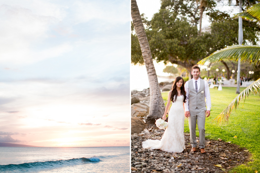 beauty maui wedding