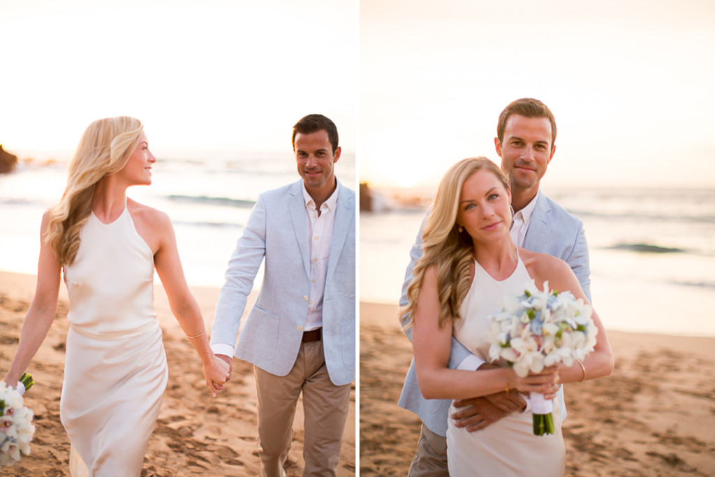wailea beach wedding photos