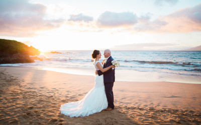 Wailea Maui Wedding, Bre + Brad