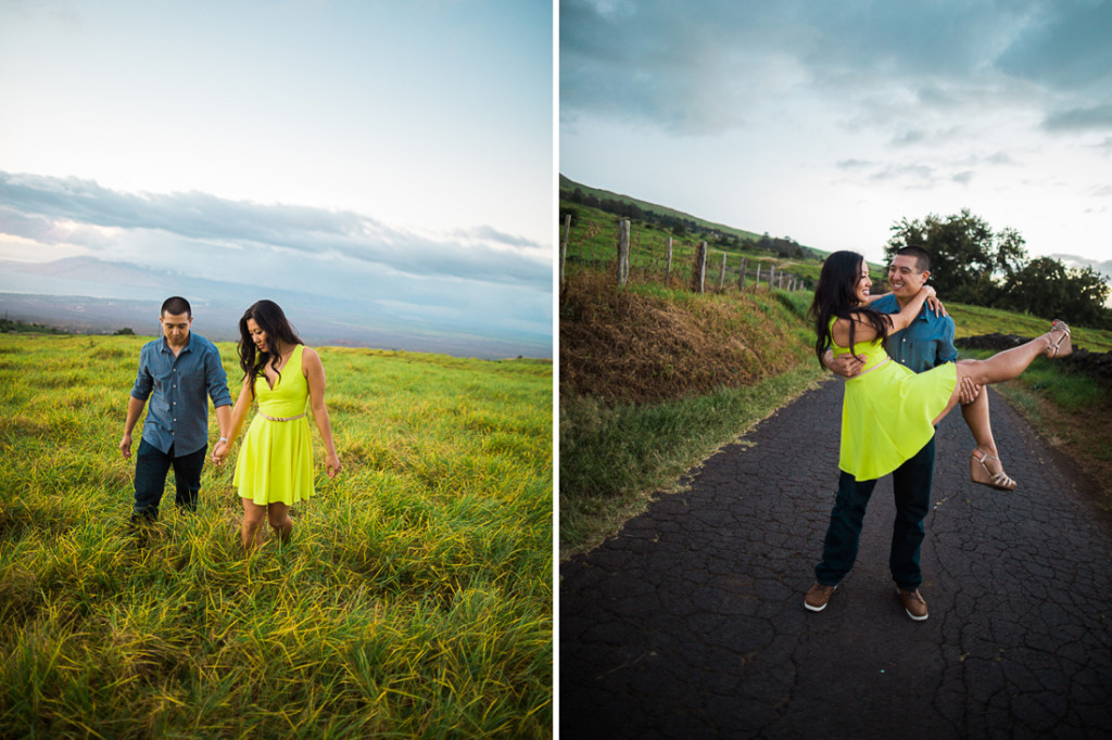 upcountry maui field engagement