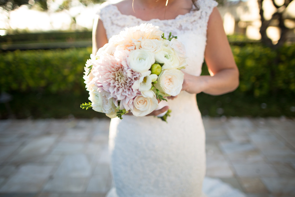 Four Seasons bridal bouquet maui