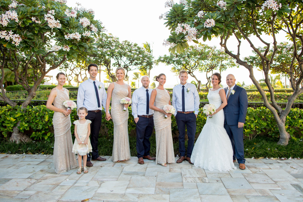 four seasons maui bridal party
