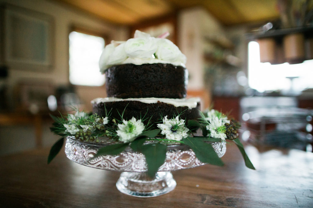 Kula Maui Wedding homemade cake