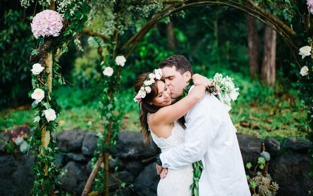 A Lovely Upcountry Maui Wedding