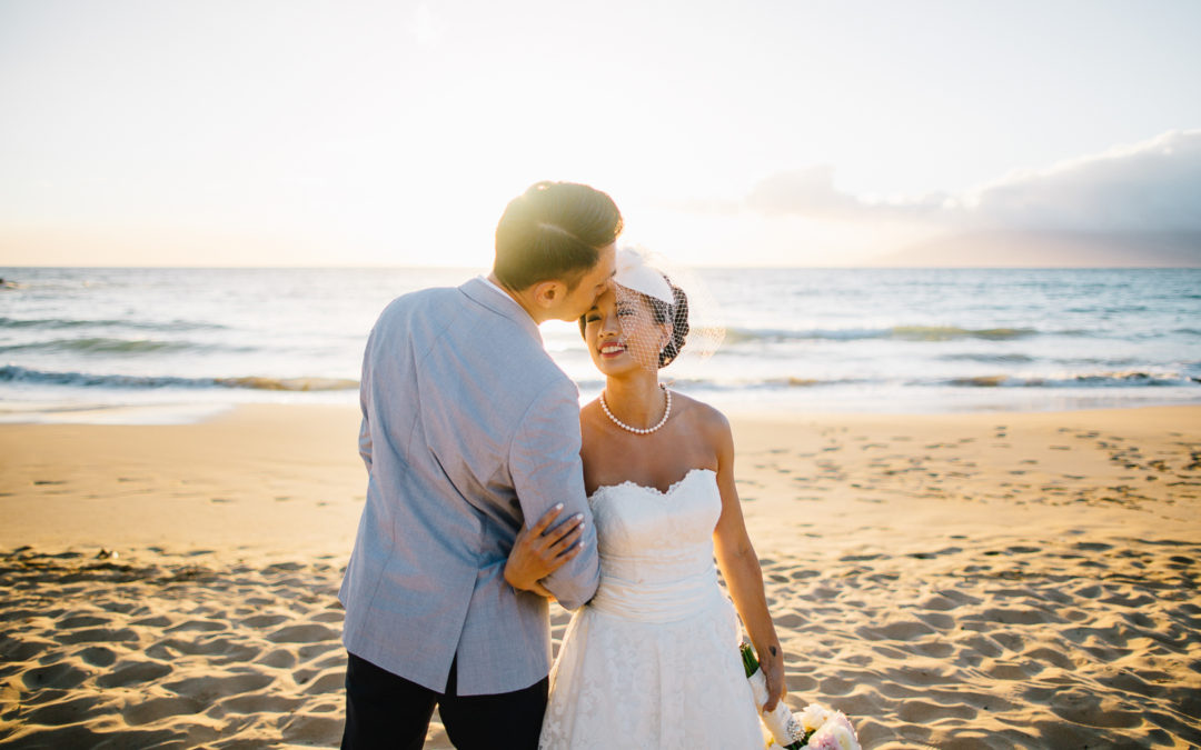 Four Seasons Wailea Wedding, Joanna + Ed