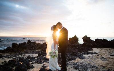 White Orchid Beach House Wedding