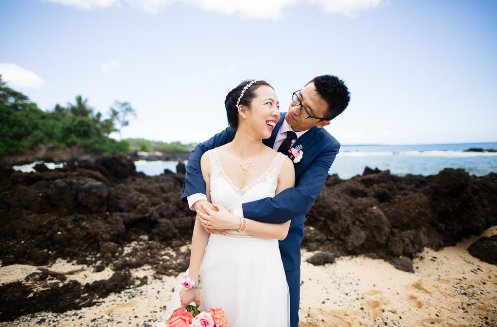 Morning Wedding at White Orchid Beach House