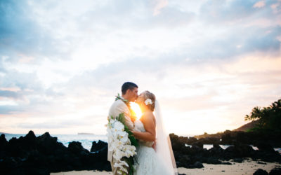 Stunning White Orchid Beach House Wedding