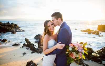 Intimate Beachfront Wedding at White Orchid Beach House