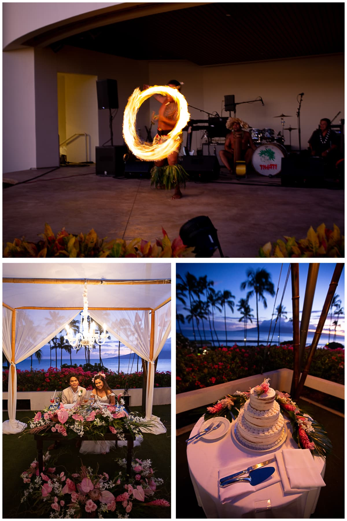 Hyatt Maui Weddings Reception featuring ManuTea