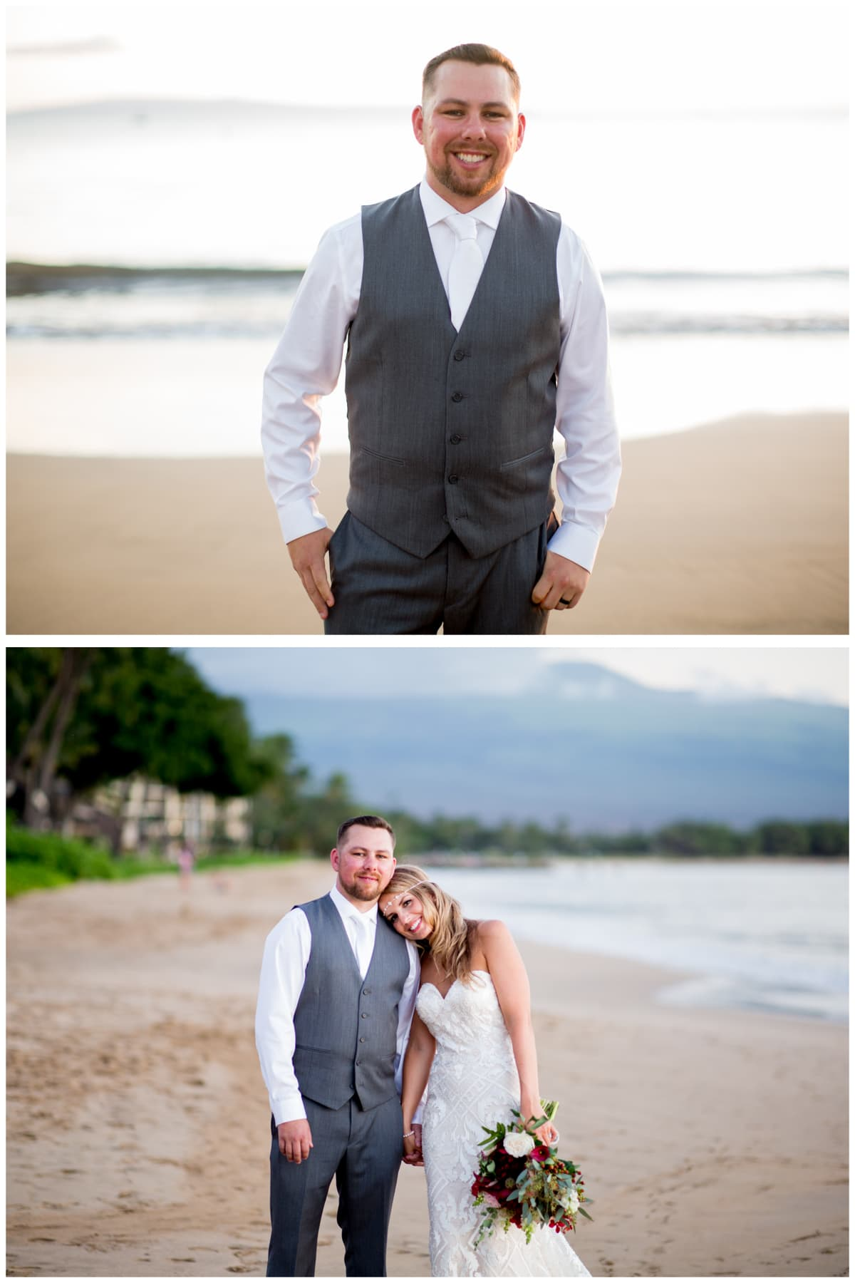 Bride Groom portraits Sugar Beach