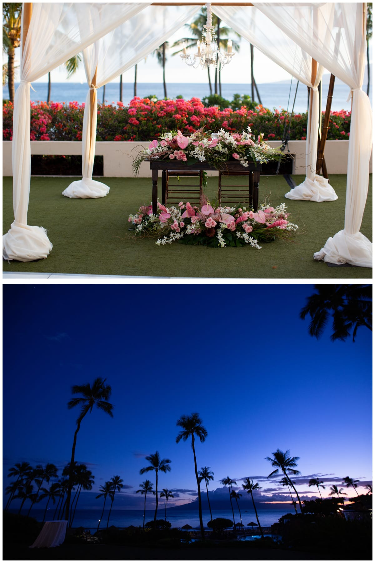 Hyatt Maui Weddings Reception