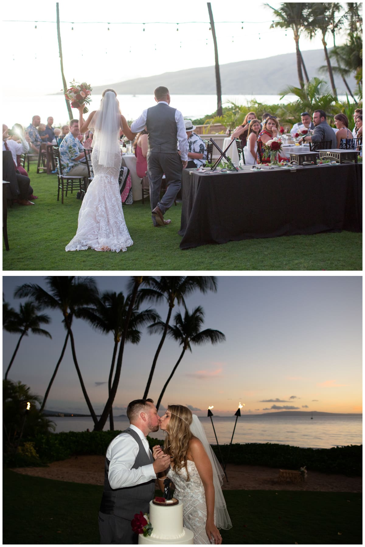 Maui Wedding Reception, Sugar Beach Events #hawaiiweddings #mauiwedding #sugarbeachwedding