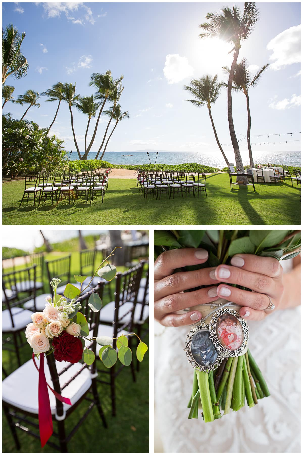 Sugar Beach Ceremony Setup
