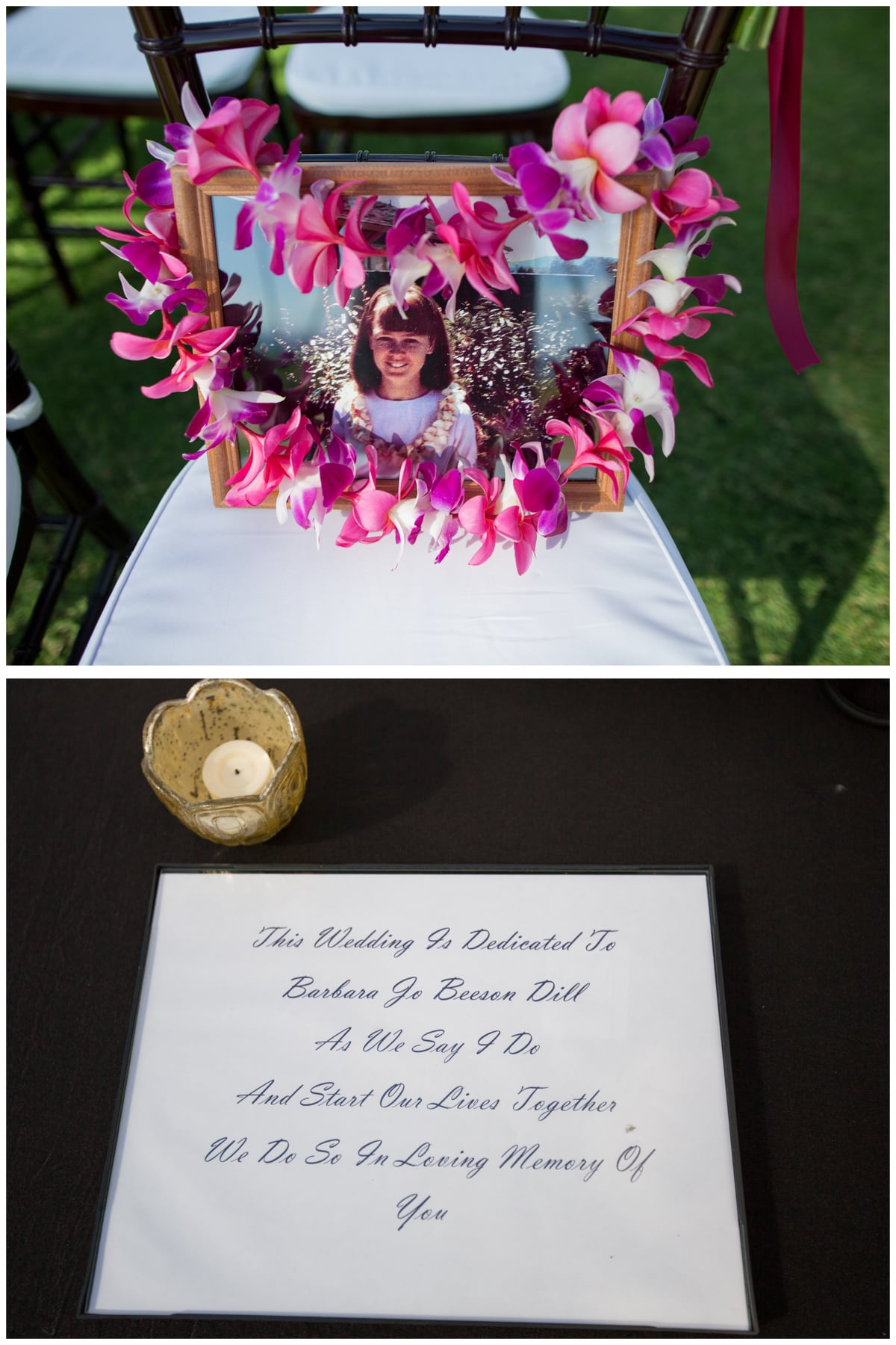 Maui Wedding In Loving Memory