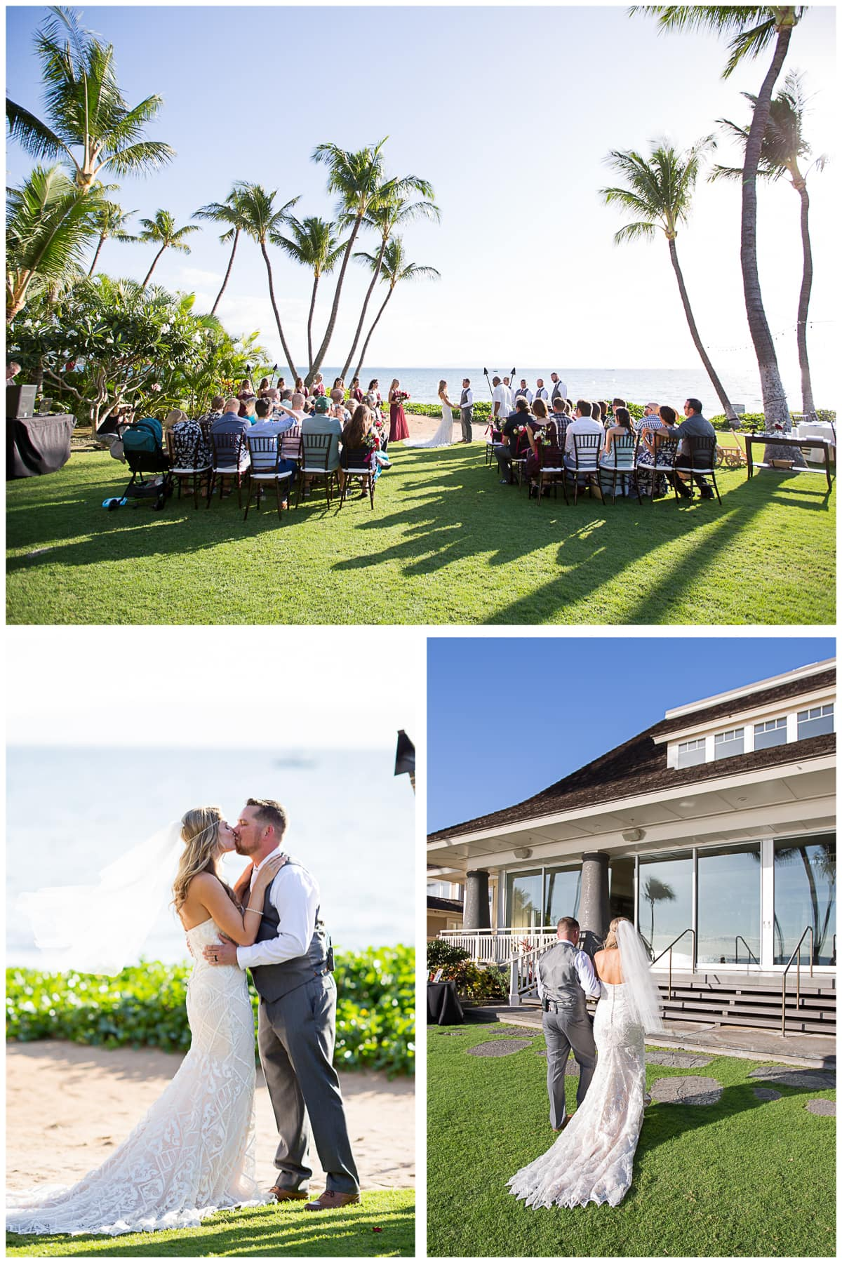 Makena Wedding Sugar Beach Ceremony