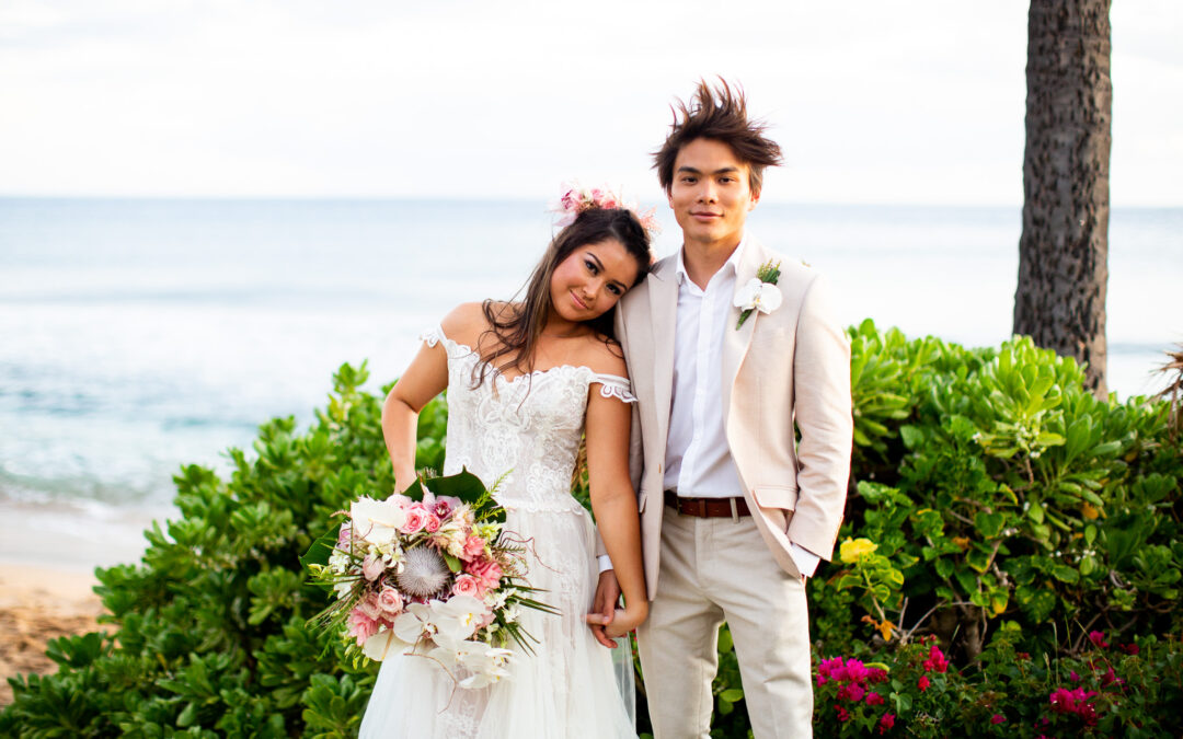 AGT Star Shin Lim and Bride Casey Thomas